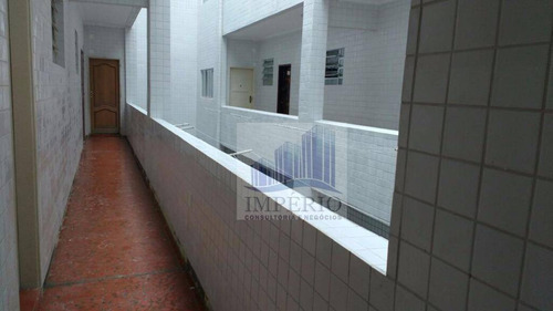 apartamento residencial à venda, cidade ocian, praia grande. - ap0133