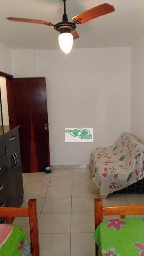 apartamento residencial à venda, cidade ocian, praia grande. - ap0173