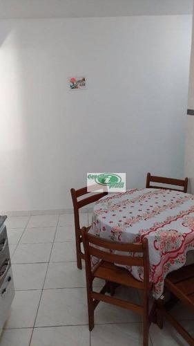 apartamento residencial à venda, cidade ocian, praia grande. - ap0175