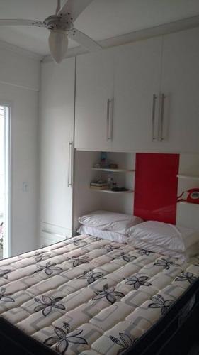 apartamento  residencial à venda, cidade ocian, praia grande. - ap0445