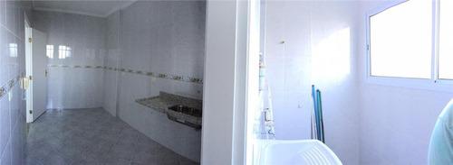 apartamento  residencial à venda, cidade ocian, praia grande. - ap0453