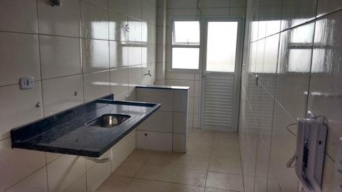 apartamento  residencial à venda, cidade ocian, praia grande. - ap0550