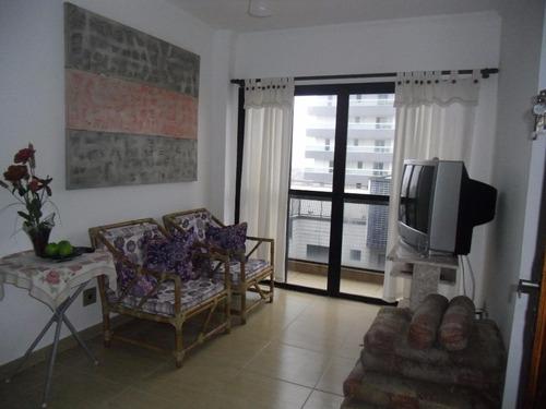 apartamento  residencial à venda, cidade ocian, praia grande. - ap0775