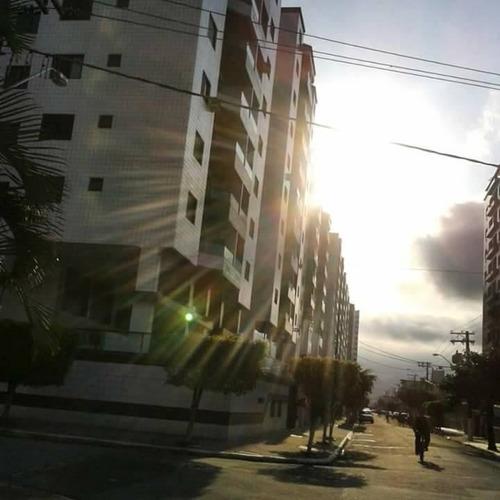 apartamento residencial à venda, cidade ocian, praia grande. - ap1366