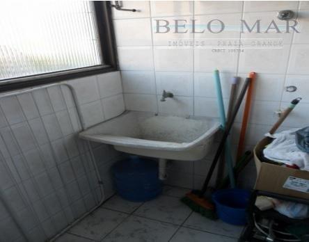 apartamento  residencial à venda, cidade ocian, praia grande. - codigo: ap0640 - ap0640