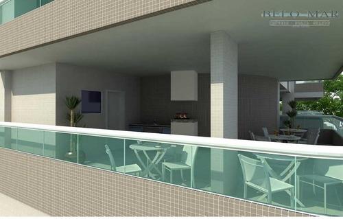 apartamento residencial à venda, cidade ocian, praia grande. - codigo: ap0844 - ap0844