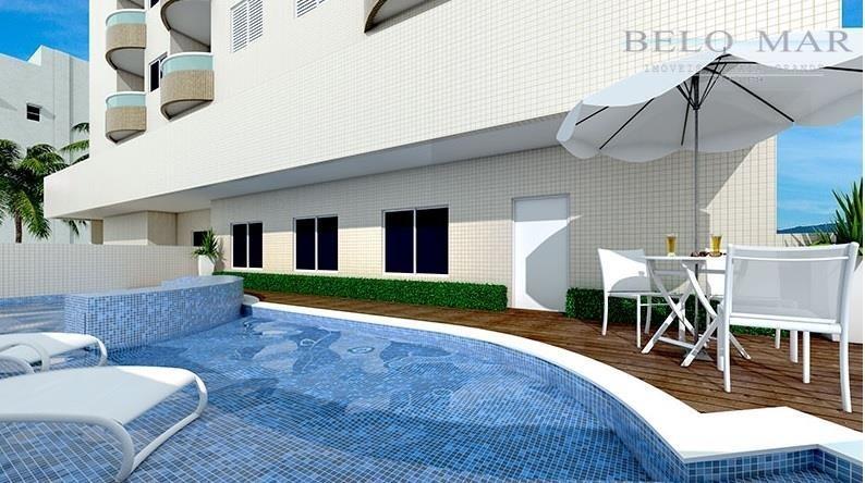 apartamento  residencial à venda, cidade ocian, praia grande. - codigo: ap1024 - ap1024