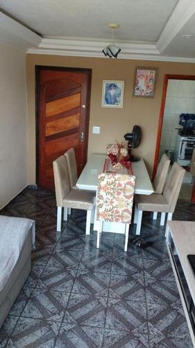 apartamento residencial à venda, cidade satélite santa bárbara, são paulo. - ap1369
