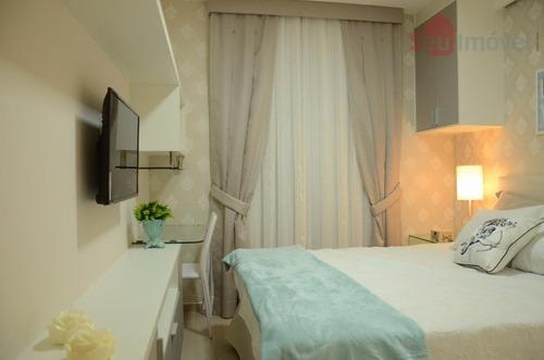 apartamento residencial à venda, coité, eusébio. - ap0924