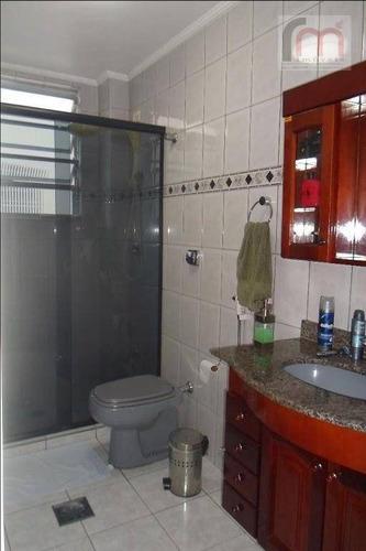 apartamento residencial à venda com garagem fechada, marapé, santos. - codigo: ap1932 - ap1932
