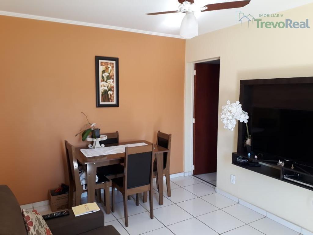 apartamento residencial à venda, cond. bosque do frutal, valinhos. - ap0734