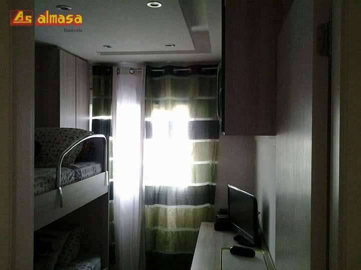 apartamento residencial à venda, condominio autentico, vila augusta, guarulhos. - ap0259