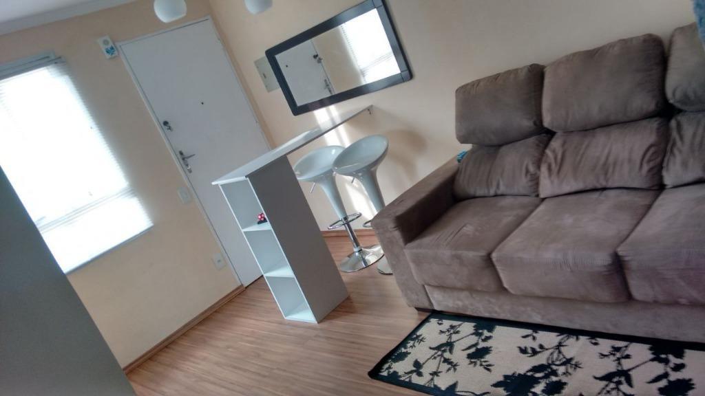 apartamento residencial à venda, condomínio dos passáros, sorocaba. - ap1222