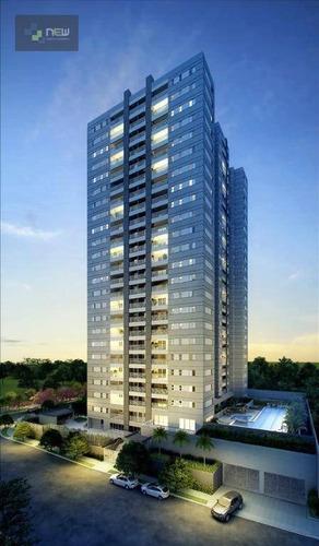 apartamento residencial à venda, condomínio guaporé, ribeirão preto. - ap0451