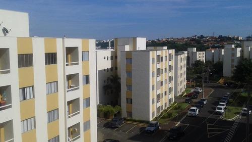 apartamento residencial à venda, condomínio parque dos pássaros, valinhos. - ap0266