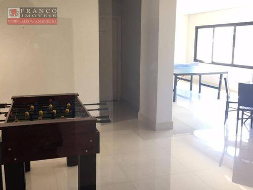 apartamento residencial à venda, condomínio residencial chiari, valinhos. - ap0142