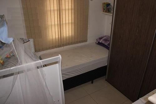 apartamento residencial à venda, conjunto habitacional roberto romano, santa bárbara d'oeste. - codigo: ap0316 - ap0316