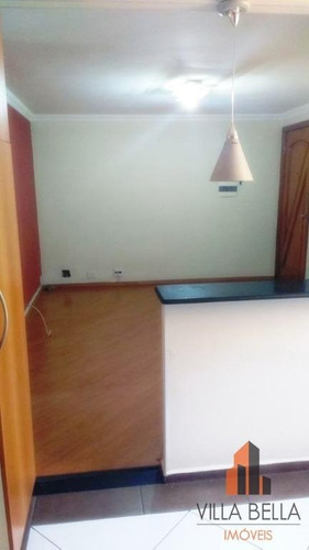 apartamento residencial à venda, conjunto residencial planeta, santo andré. - ap4191