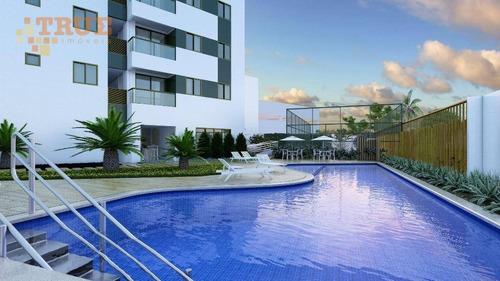 apartamento residencial à venda, cordeiro, recife. - ap2495