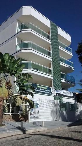 apartamento residencial à venda, costazul, rio das ostras. - ap0357