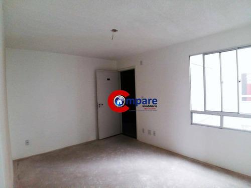 apartamento residencial à venda, cumbica, guarulhos. - ap4882