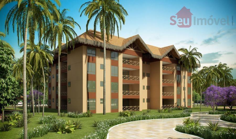 apartamento  residencial à venda, cumbuco, caucaia. - ap0388