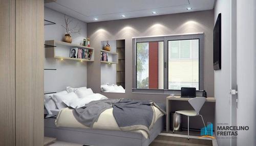 apartamento residencial à venda, curicaca, caucaia - ap2245. - ap2245