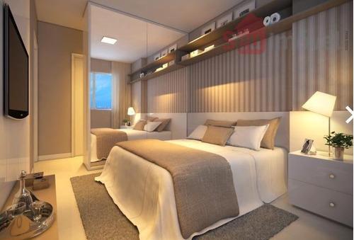 apartamento residencial à venda, dunas, fortaleza. - ap0958
