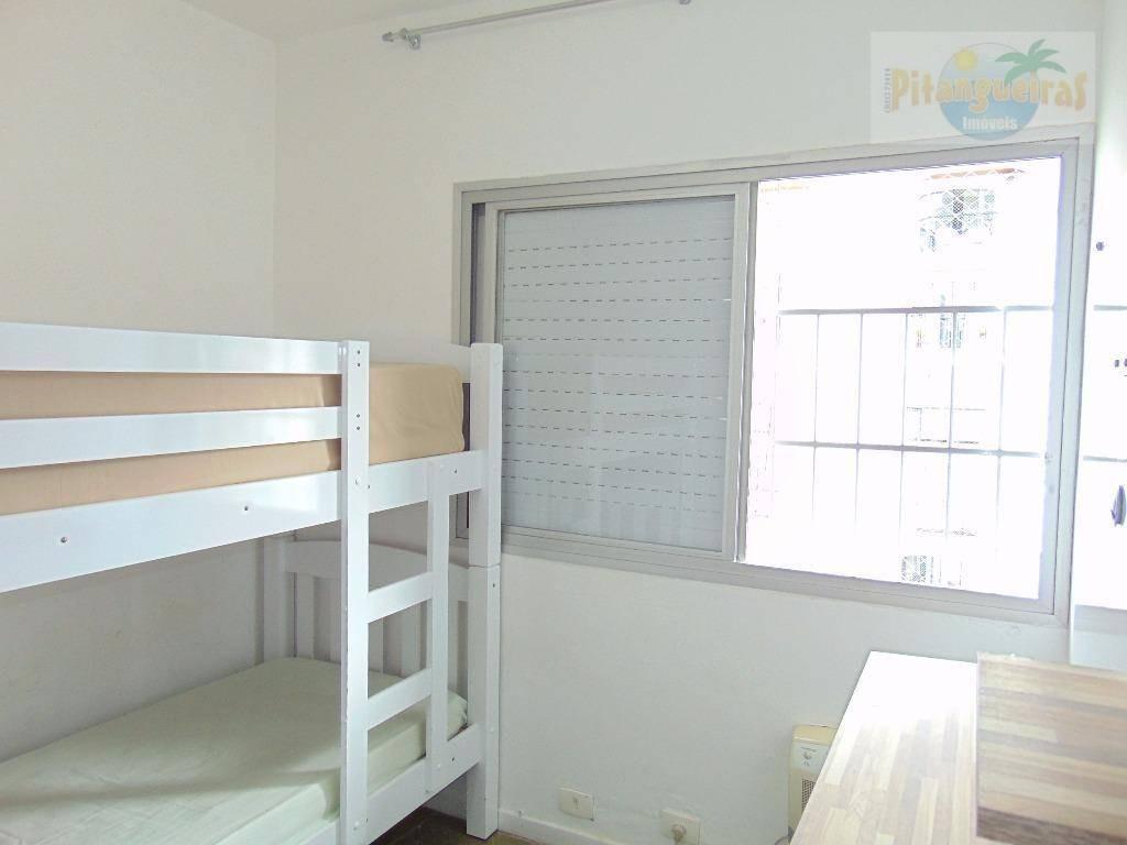 apartamento residencial à venda e locação anual, pitangueiras, guarujá. - ap3409