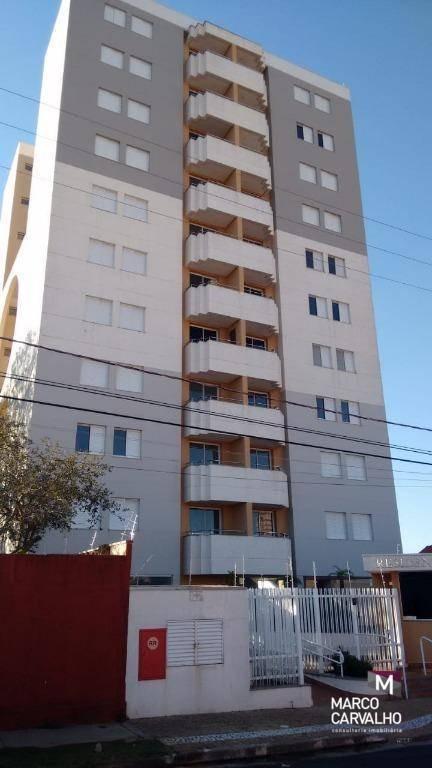 apartamento residencial à venda, edifício ambar, marília. - ap0117