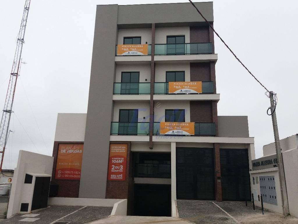 apartamento residencial à venda - edifício piazza allegra, jardim carvalho, ponta grossa. - ap0016
