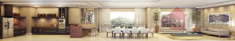 apartamento residencial à venda, edson queiroz, fortaleza. - ap0483