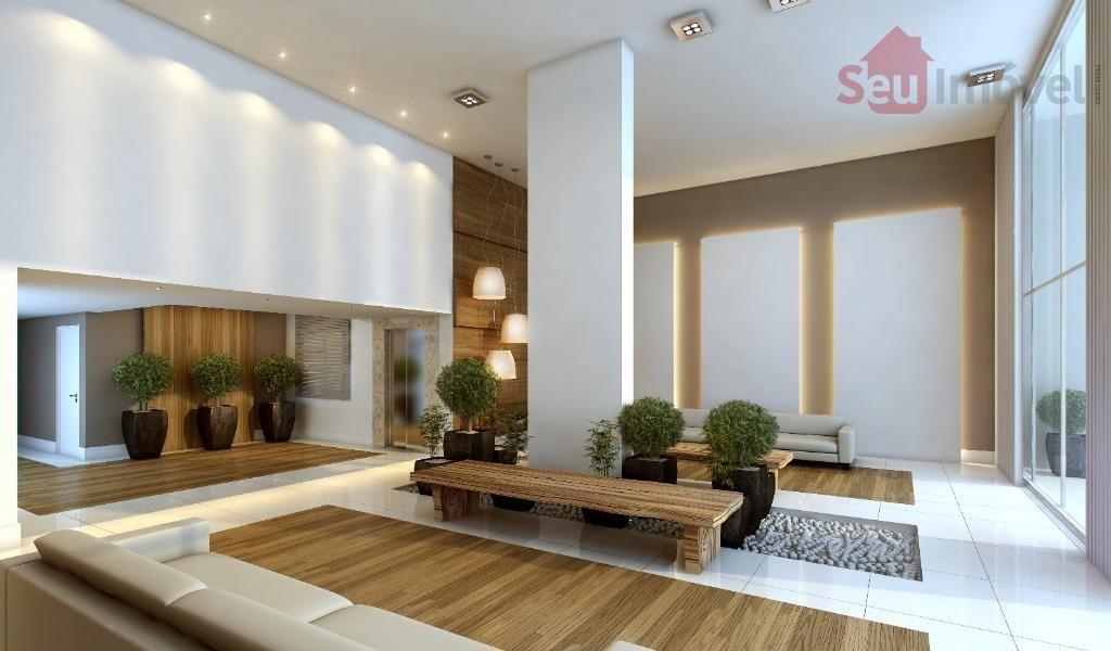 apartamento residencial à venda, edson queiroz, fortaleza. - ap0820