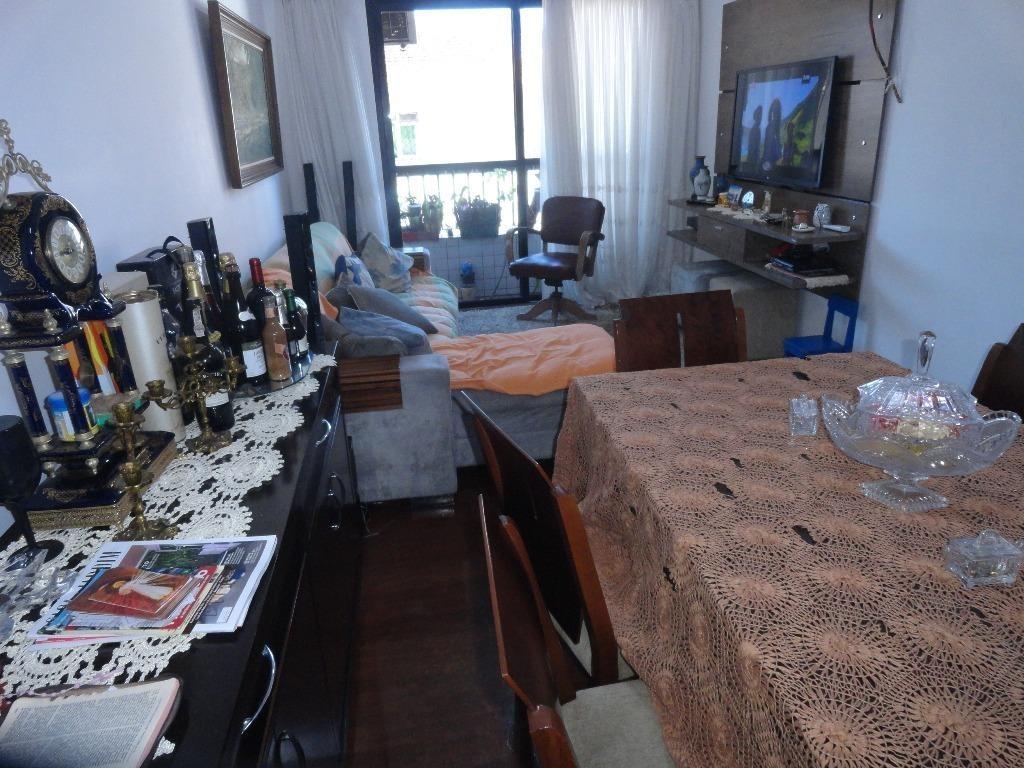 apartamento residencial à venda, embaré, santos. - ap3465