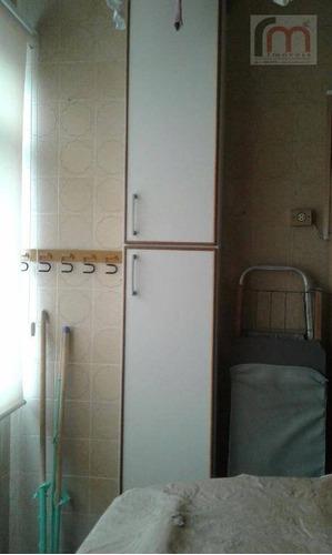 apartamento residencial à venda, embaré, santos. - codigo: ap1985 - ap1985