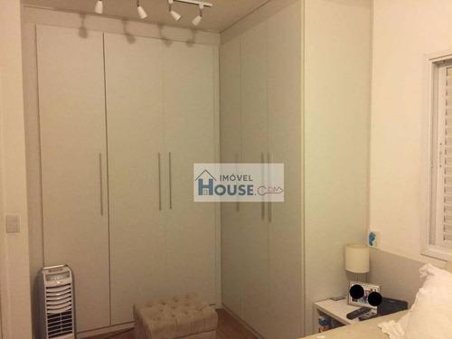 apartamento residencial à venda, empresarial 18 do forte, barueri. - ap0113