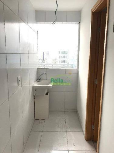 apartamento residencial à venda, encruzilhada, recife. - ap3195