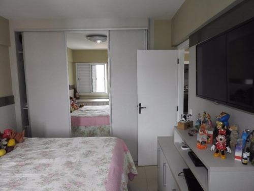 apartamento residencial à venda, encruzilhada, santos. - ap5246