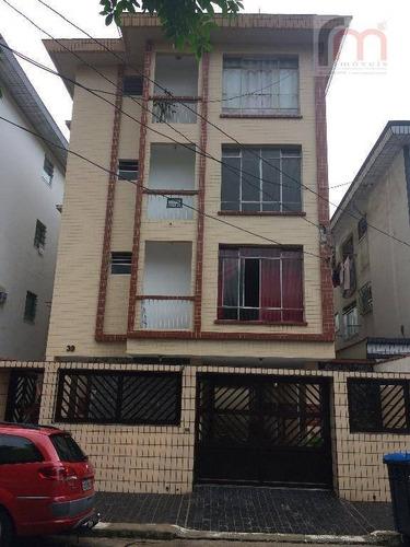 apartamento residencial à venda, encruzilhada, santos. - codigo: ap2048 - ap2048