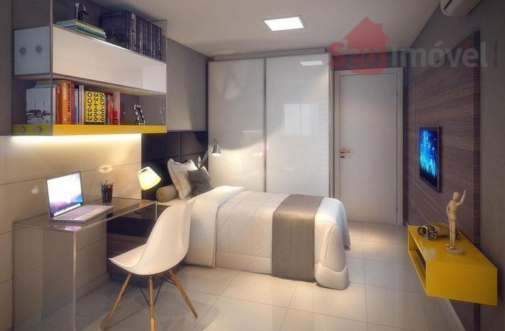 apartamento  residencial à venda, engenheiro luciano cavalcante, fortaleza. - ap0566