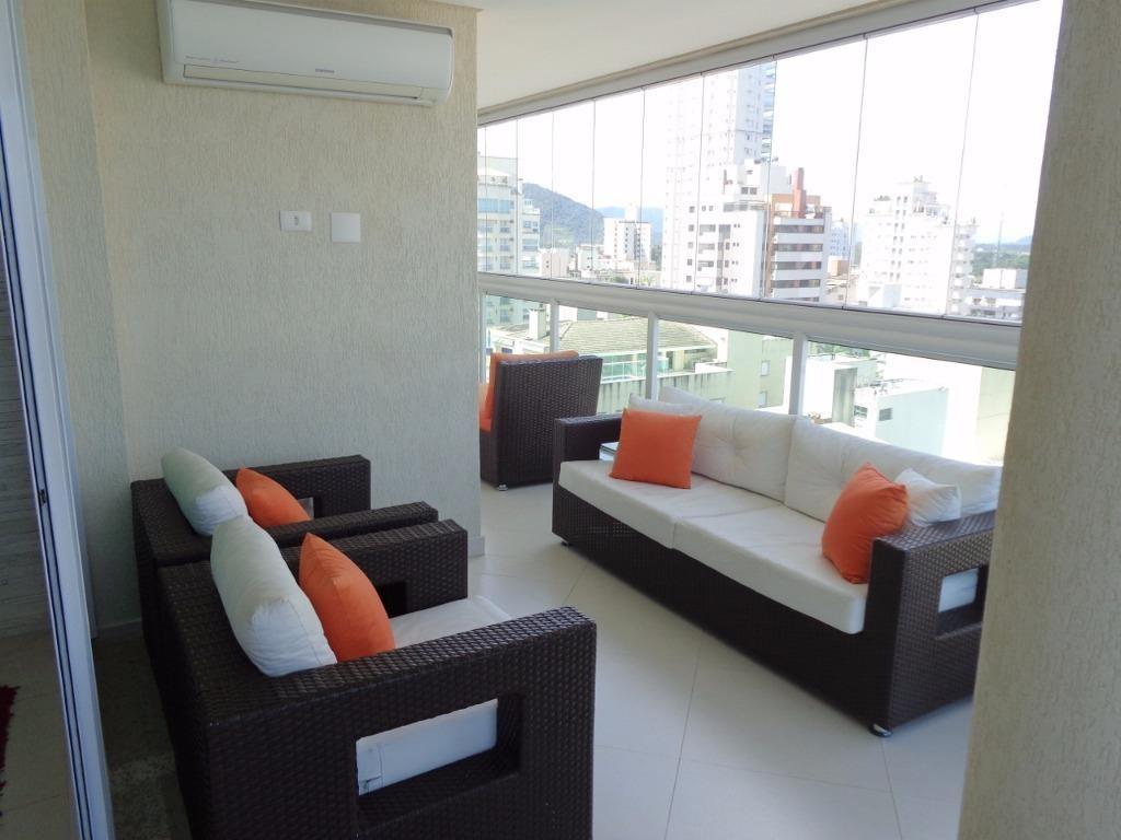 apartamento residencial à venda, enseada, guarujá - ap6098