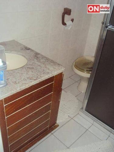 apartamento residencial à venda, estuário, santos. - ap0234