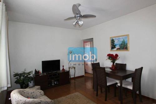 apartamento residencial à venda, estuário, santos. - ap3468