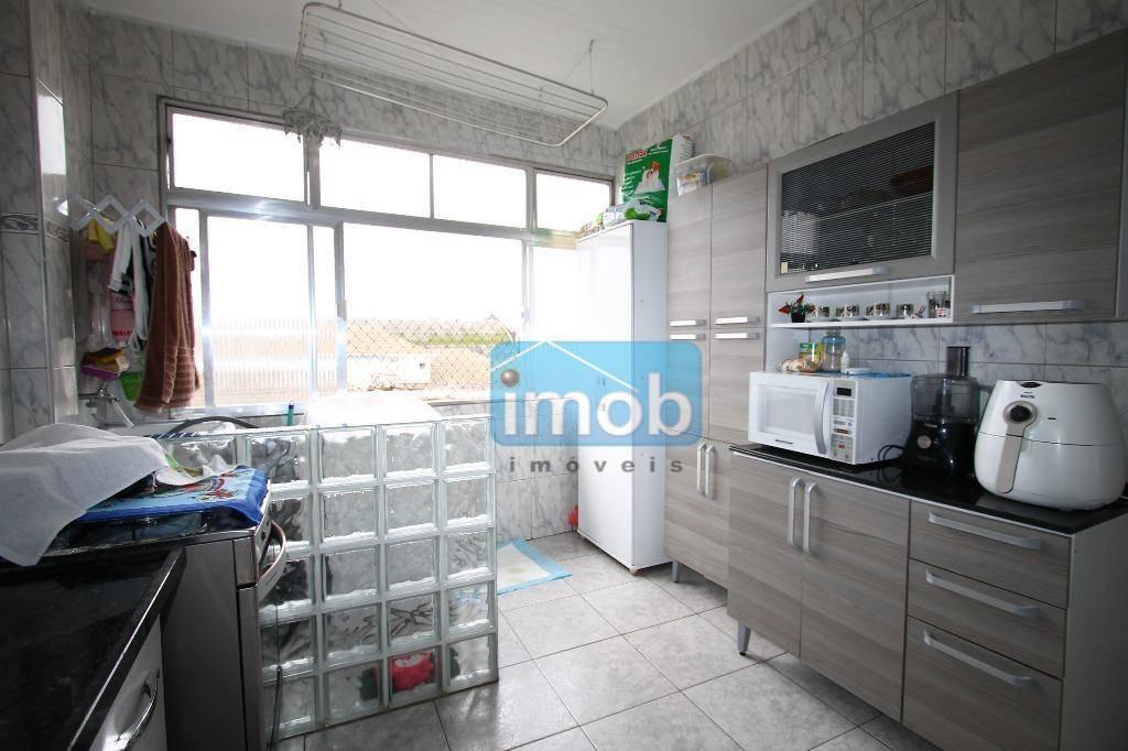 apartamento residencial à venda, estuário, santos. - ap4005