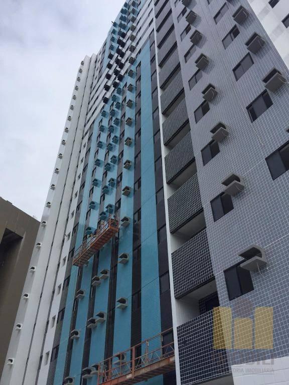 apartamento residencial à venda, farol, maceió. - ap0108