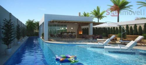 apartamento  residencial à venda, fátima, fortaleza. - ap0155