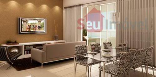 apartamento residencial à venda, fátima, fortaleza - ap0354. - ap0354
