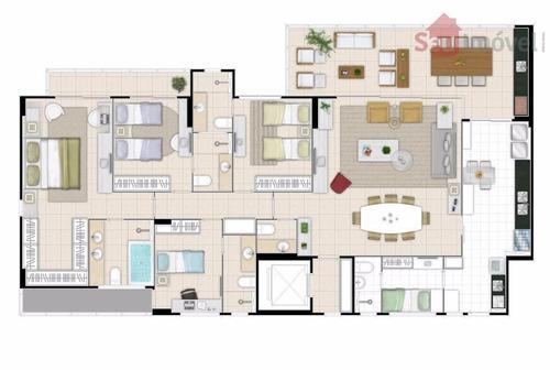 apartamento residencial à venda, fátima, fortaleza. - ap0846