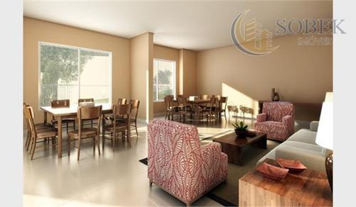 apartamento  residencial à venda, fazenda santa cândida, campinas. - ap0191