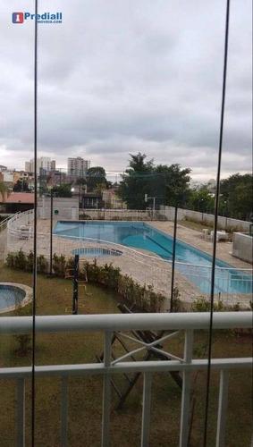 apartamento residencial à venda, freguesia do ó, são paulo. - ap1780